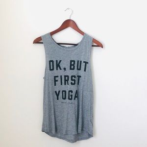 Spiritual Gangster•Ok, But First Yoga Tank